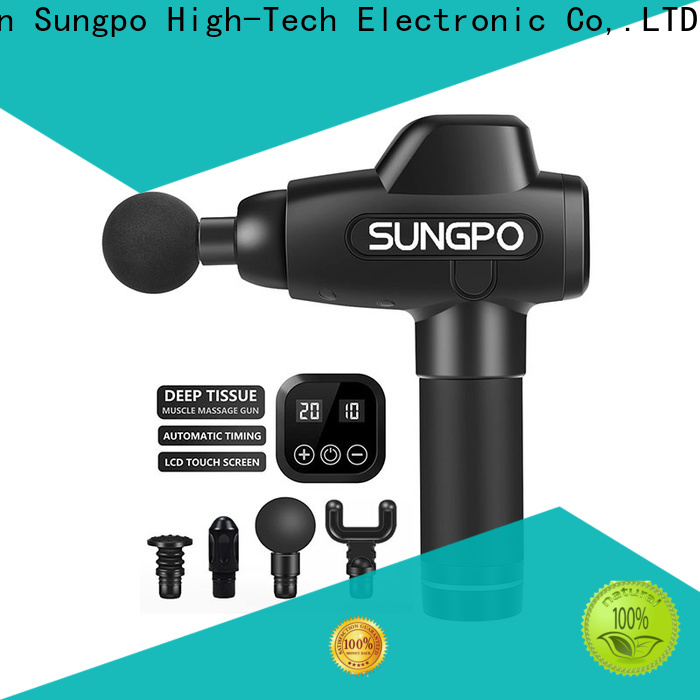 SUNGPO popular massage gun manufacturer for sports injuries