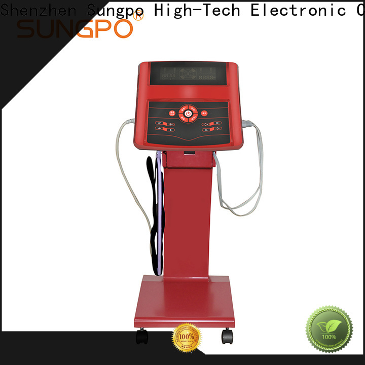 SUNGPO high tech physiotherapy equipment factory direct supply for body