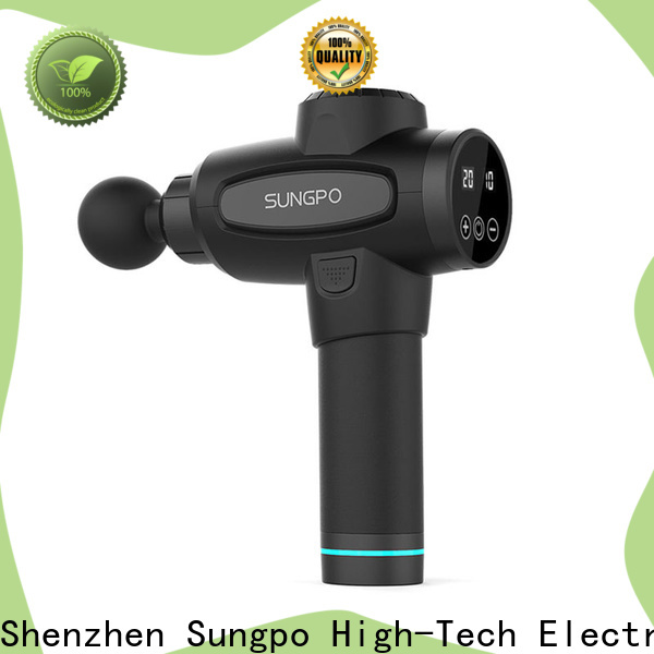 SUNGPO convenient massage gun supplier for sports injuries
